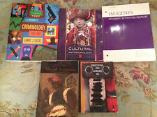 College Books: Criminology The Core, Visual Literacy, Imagenes, Primitism,& more