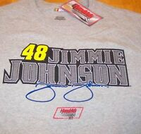 JIMMIE JOHNSON #48 NASCAR LOWES T-Shirt LARGE NEW w/ TAG  TEAM LOWE'S