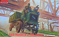 Roden 733 - B 3 Ton Lorry Truck 1912-1917 - 1/72 scale model airplane kit 128 mm