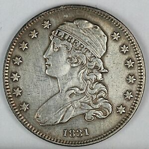 1831 United States Capped Bust Quarter - XF Extra Fine Condition