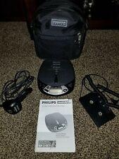 Philips Magnavox Az 7566 Portable Compact Disc Player Bundle (D2)