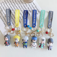 Cute Cartoon Anime Keychain Ninja Doll Key Ring Phone Car Handbag Pendant
