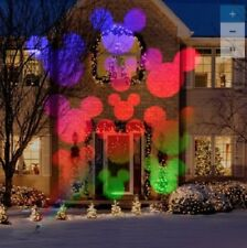 Disney Lightshow Projection Multi-function Multicolor LED Christmas Yard Decor