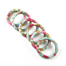Korean Style 6pcs Elastic Hair Ties Band Ropes Ring Ponytail Holder Accessories
