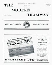 Modern Tramway 52 Swansea & Mumbles, Bow collector (April 1942) RARE!