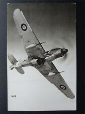 More details for ww2 fighter aircraft hawker hurricane iid c1939/1945 rp postcard
