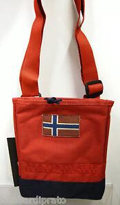 Borsa tracolla bag unisex NAPAPIJRI a.mayen mini crossover 3ANN0R09 094 old red