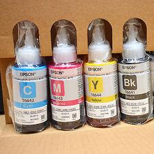 ORIGINAL EPSON CMYK INK FOR DESKJET L110/L210/L350/L355/L455/L550/L555 WITH CODE