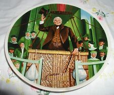 """The Wonderful Wizard Of Oz"" Plate The Wizard Of Oz Coa"