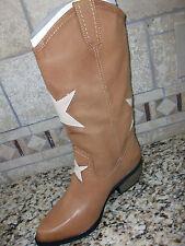 NEW MIA NUDE/TAN WESTERN COWBOY BOOTS WOMENS 7 ROCKSTAR WOMENS 7