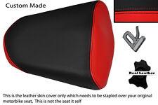 RED & BLACK CUSTOM FITS HONDA CBR 125 R 11-13 PASSENGER REAR SEAT COVER