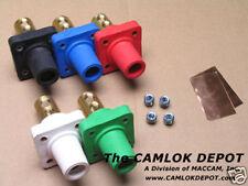 Camlok #2 - 4/0 FEMALE ONLY Panel Mount 3 Phase Kit