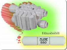 Auto Shut Off  Valve & Flow Restrictor 550 ML Combo RO Reverse Osmosis System