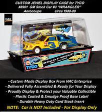 Custom Display Case: TYCO #8901 Earnhardt GM Stocker WRANGLER #3 (Aerocoupe)