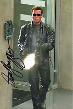 ARNOLD SCHWARZENEGGER Signed 12x8 Photo THE TERMINATOR COA