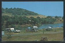 CA Ventura CHROME c.1970 LAKE CASITAS CAMPGROUND Trailer TENT Camper by Columbia