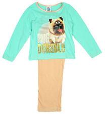 Pyjamas bleu pour fille de 2 à 16 ans en 100% coton