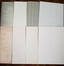 Pretty pastels a5 papers x8 sheets