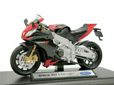 Welly 1:18 Aprilia RSV 4 Factory Motorcycle Bike Model Toy New In Box