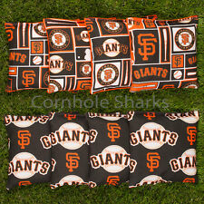 ALL WEATHER Resin Washable San Francisco SF Giants ACA Cornhole Bean Bags