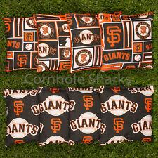 ALL WEATHER Resin Washable San Francisco SF Giants ACA Cornhole Bean Bags