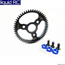 Hot Racing SJT256 Steel Spur Gear (56t 0.8 Mod)(Blue) - Traxxas