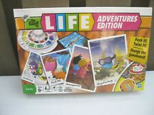 The Game of Life: Adventures Edition Board New SEALED HTF Fast Ship