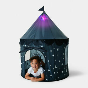 Light Up Play Tent - Blue Your Kids Will Have A Fun Time Indoors & Outdoors 2021
