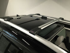 SKODA YETI LOCKABLE ALUMINIUM CROSS BAR RACK 75 KG LOADING CAPACITY GREY
