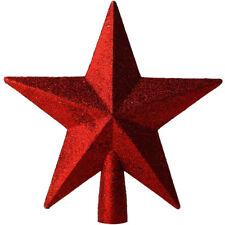 3DXmas Glitter Glänzende Sterne Weihnachtsbaum Christbaumspitze Weihnachten Deko