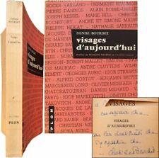 Visages d'aujourd'hui 1960 envoi Denise Bourdet Robbe-Grillet Beatrix Beck etc
