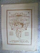1921 Theatre Programme Macdonald & Young's THE CHARM SCHOOL-Hugh Williams