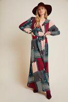 BNWT Anthropologie Virginia Wrap Maxi Dress Size S RRP £159