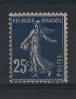 "FRANCE STAMP TIMBRE YVERT N° 140 b "" SEMEUSE 25c BLEU NOIR "" NEUF xx LUXE  R471"