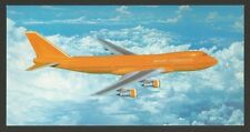 70s Airline Issue Braniff International Aircraft Airplane Aircrafts B 747 Z1