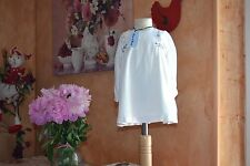 robe neuve tartine et chocolat 12 mois doublee broderies 115 euros