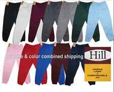 Unisex Mens Womens Sweatpants Fleece Workout Gym Pants Elastic Waist S - 5XL NEW
