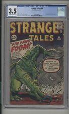 Strange Tales #89 CGC 3.5 (OW/W) 1st App. of Fin Fang Foom Marvel Comics 1961