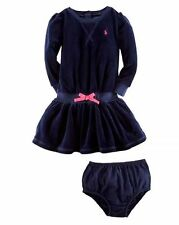 Ralph Lauren Girls' 100% Cotton Clothing without Pattern