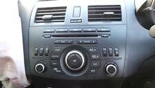 MAZDA 3 RADIO/CD/DVD/SAT/TV BLUETOOTH, BL, 04/09-10/13 09 10 11 12 13