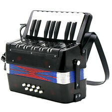 17-Key 8 Bass Mini Accordion Musical Toy for Kids B8R7 X6I1