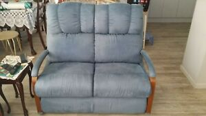 Lazboy couch & 2 recliners