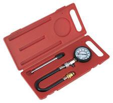 PETROL ENGINE COMPRESSION TEST KIT 3PC   14 & 18MM FROM SEALEY TOOLS