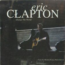C.D.MUSIC   H573  ERIC CLAPTON   CHANGE THE WORLD    SINGLE  3  TRACK  CD