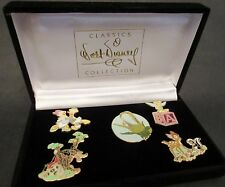 Walt Disney Classics Collection WDCC Pin Set Retired BAMBI TINKERBELL & MORE!!