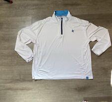 White Water XXXL WHITE Monterey Performance Breathable 1/4 Zip Pullover Shirt