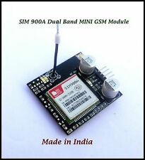 SIM900A Dualband GSM/GPRS TTL MODULE for Arduino Raspberry Pi and other MCU