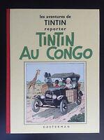 Album Fac similé Noir et Blanc Tintin au Congo avec 4 HT 1995 ETAT NEUF Hergé