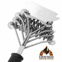 Bristle Free 5-in-1 BBQ Grill Brush Scraper Cleaner Set - Grill Accessories Tool