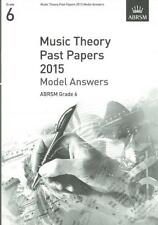 ABRSM Theory of Music Exams, Grade 6, 2015 - Model Answers AB48497528